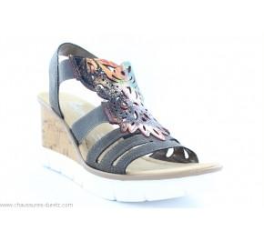 Sandales femme Rieker BEC Grey V5536-45