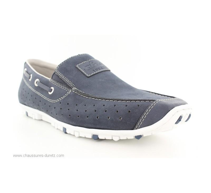 a31d69b2b33f Mocassins Rieker BADER Bleu 08986-15 | Chaussures Détente Rieker ...