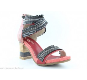 Sandales femme Laura Vita - BETTINO Rouge