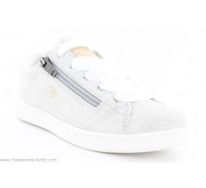 Baskets fille Palladium MALO Silver