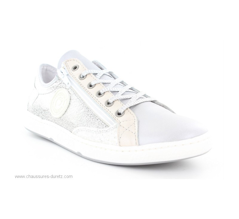 76be1f767965a Baskets Pataugas JESTER Multi Argent   Chaussures à lacets Pataugas ...