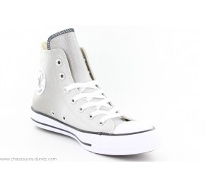 Baskets femmes Converse ALL STAR HI ASH Gris Paillettes