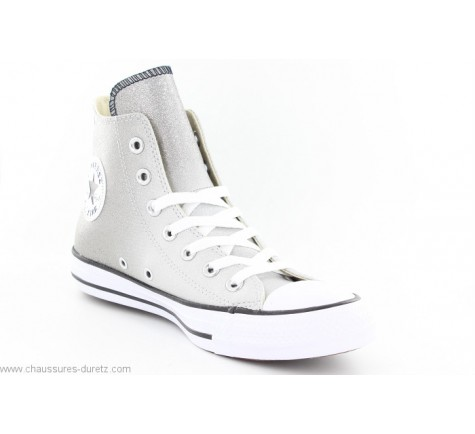Converse ALL STAR HI ASH Gris Paillettes