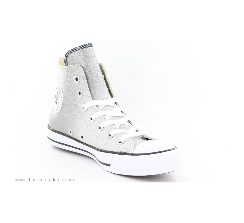 02c685d21a396 Converse ALL STAR HI ASH Gris Paillettes. Loading zoom