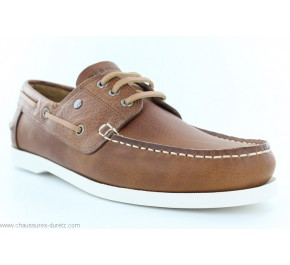 Chaussures bateau Redskins ORLAND Cognac