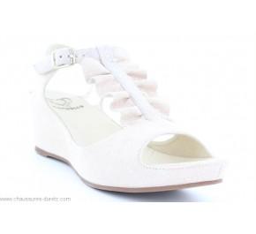 Sandales femme Mam'Zelle - DYLAN Blanc