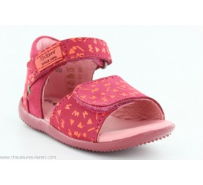 Sandales bébés Kickers - BIHILANA Orange / Fuschia/ Rose