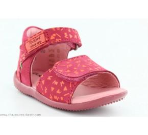 Sandales fille Kickers BAZOOKA Fuchsia