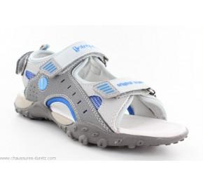 Sandales garcon Babybotte YOYO Gris / Bleu