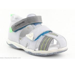 Sandales garçon Babybotte TANAEL Gris