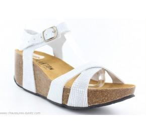 Sandales femme Plakton SO FEEL Blanc