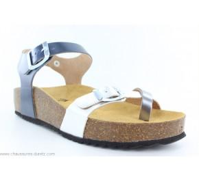 Sandales femme Plakton CP ZOMBA Acier /...