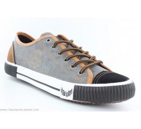 Chaussures toile Kaporal DONA Noir / Camel