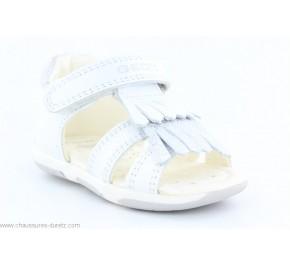 Sandales fille Géox GABA Blanc / Silver