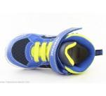 Baskets lumière Geox GALOP Bleu / Jaune