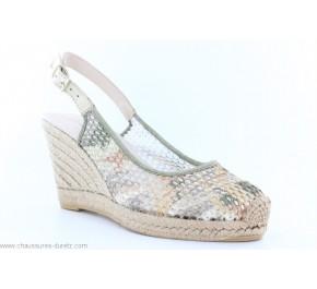 Chaussures femme La Maison de L'Espadrille KAKI 834 Multicolore