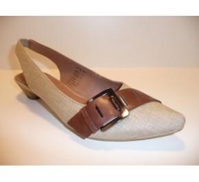 Chaussures femme Tamaris VRAI Toile Beige