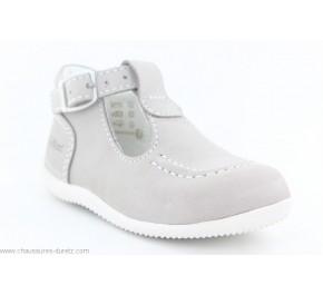 Chaussures bébés Kickers BONBEK Gris clair
