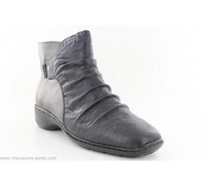 Boots femme Rieker CUIR Noir 78381-00
