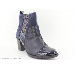 Boots femme Rieker CREPE Bleu Z7686-14