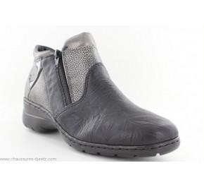 Boots femme Rieker CUBE Noir L4391-00