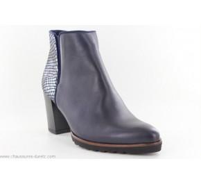 Boots femme Dorking NARD 7224 Bleu