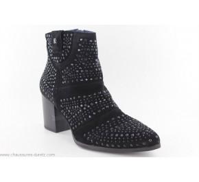 Boots femme Dorking NAVET 7699 Noir
