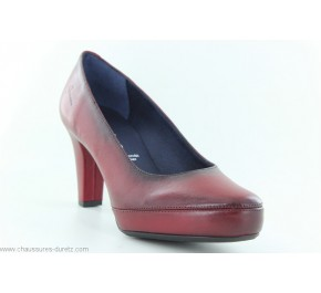 Escarpins femme Dorking ELITE 5794 Bordeaux