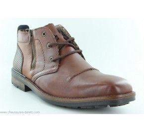 Bottines homme Rieker CREDI Marron...