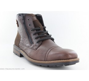Bottines homme Rieker CRASH Marron...