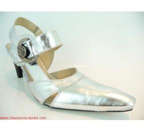 Chausures femme France Mode ELIOT Verni Silver