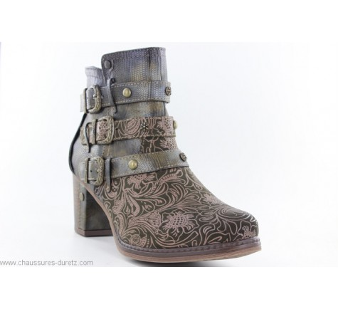 Vente en gros TAMARIS Chaussures Bottines Femme Rouge