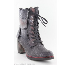 Bottines femme Mustang FAT Navy