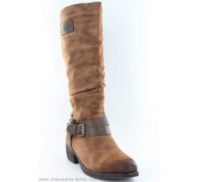 Bottes femme Rieker CROQ Camel 93158-24