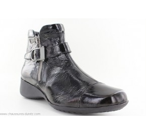 Boots femme Artika AQUITAIN Verni Noir