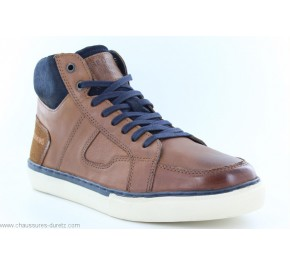 Bottines homme Redskins CIZAIN Cognac / Navy