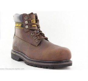 Bottines homme Caterpillar HOLTON Marron