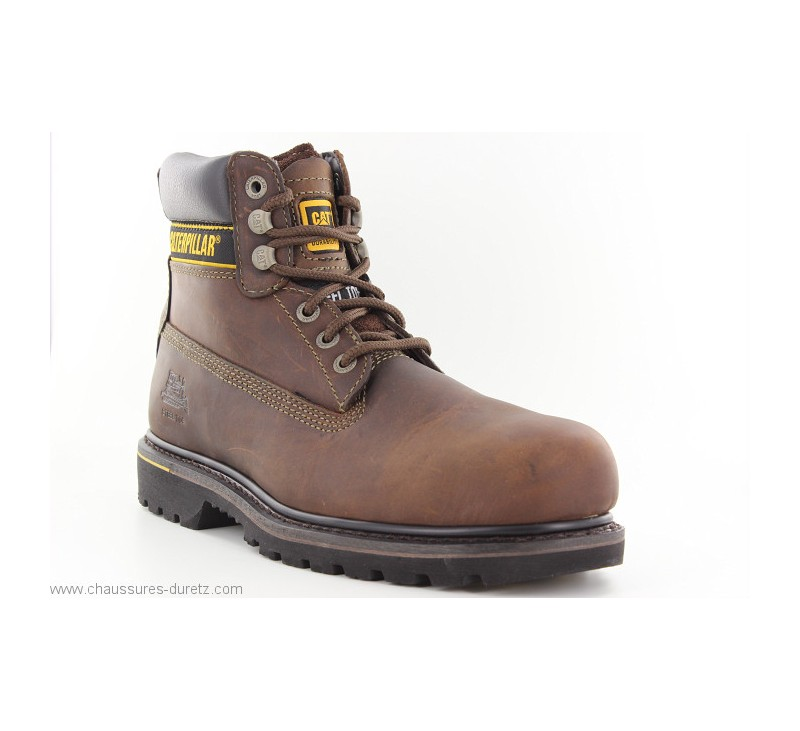 6f8104736df22b Caterpillar HOLTON Marron. Loading zoom. Bottines Caterpillar HOLTON Marron