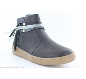 Boots fille Babybotte KIKAMBA Noir