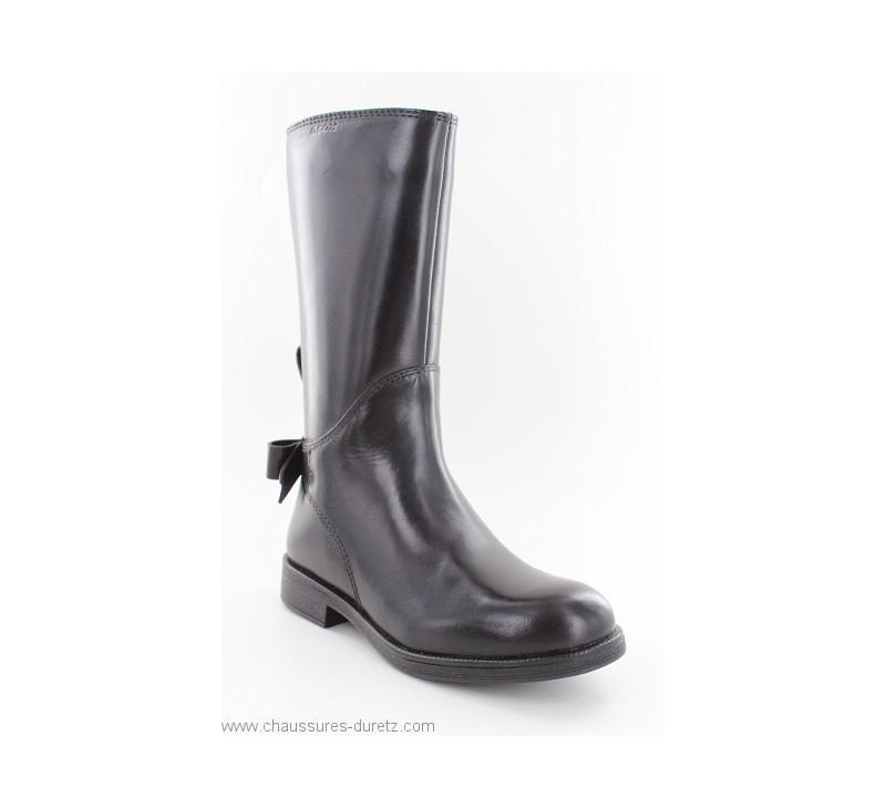 amp; Geox Frolic Enfant Noir Bottes Pour Boots xw8C0vF0q