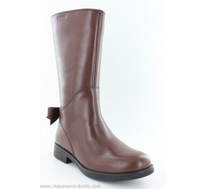 Bottes fille Geox FROLIC Tobacco