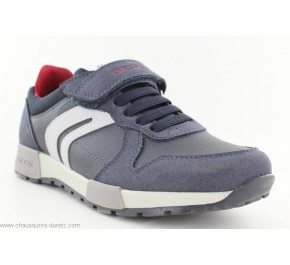 Baskets garçon Geox FUN2 Navy / Grey