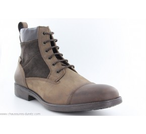 Bottines homme Geox GARS Coffee