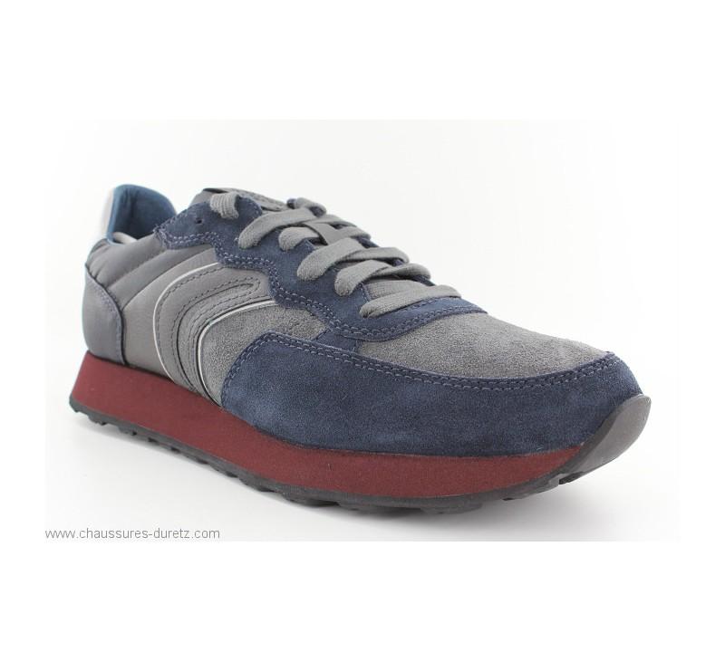148384d9dbe1e2 Baskets Geox GANIT Navy | Chaussures Détente Geox pour Homme