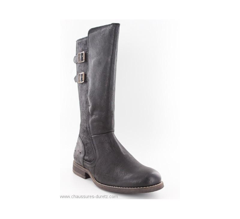 sélection premium d0c55 e9093 Bottes femme Kickers SMADNESS Noir