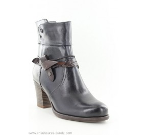 Boots femme Tamaris RIVE Navy / Mocca
