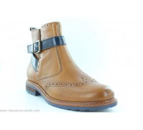 Boots femme Tamaris RISC Cognac