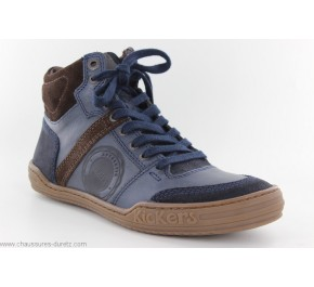 Bottines homme Kickers JEXPLOREHIGH Marine