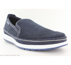 Mocassins homme Mephisto HADRIAN Perf Navy