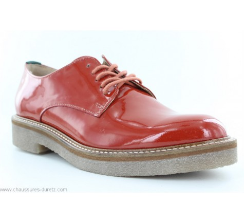 femme Rouge Chaussures Kickers Rouge OXFORK OXFORK Chaussures femme Kickers L5ASj3cRq4